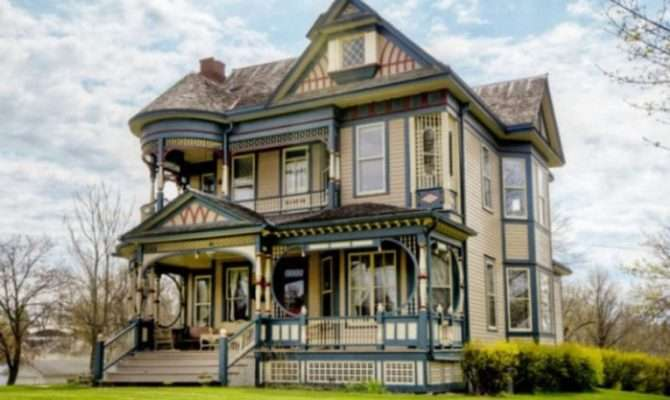 Degree Sea Scenery Queen Anne Victorian Old House Designs