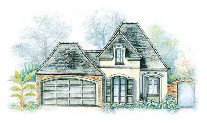 Delightful French Eclectic House Plans Building