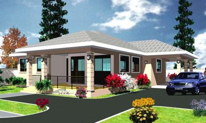Delightful Modern House Plans Ghana Building