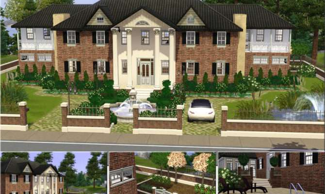 Demented Designs Luxurious Mansion