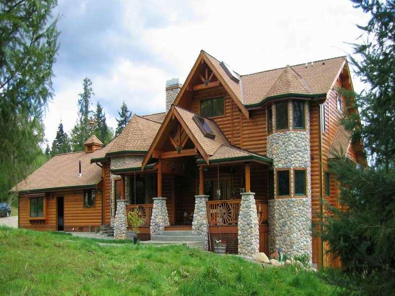 Design Build Log Homes Floor Plans Cabin Home