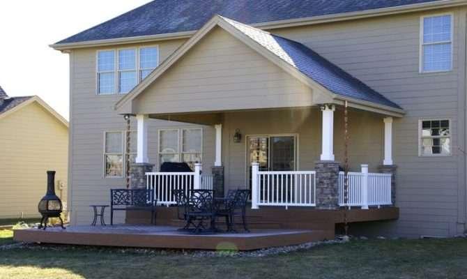 Design Diiullio Covered Deck House