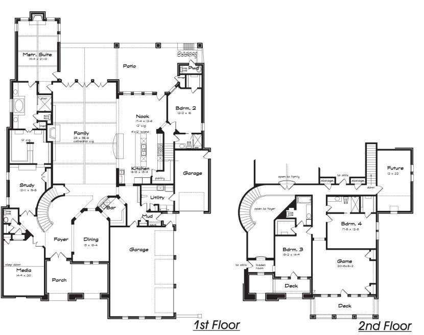 Design House Plans Hidden Rooms Winsome Best