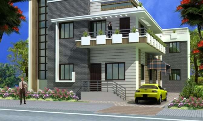 Design Indian Front Elevation Designs Floor Building