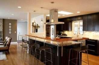 Design Kitchen Floor Plan Plans Island