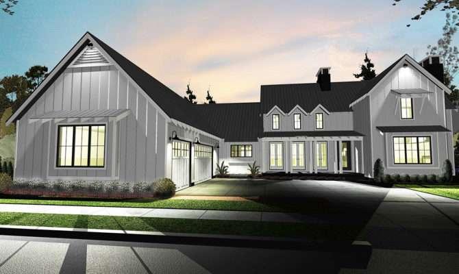 Design Modern Farmhouse Plans Large Style Joanne Russo