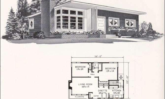 Design Weyerhauser Mid Century Home Plans