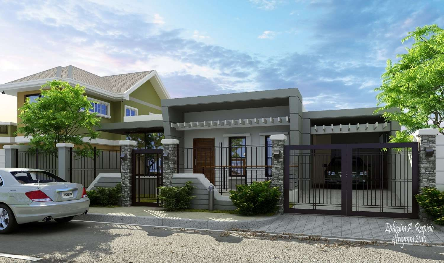Design Your Own Bungalow House Home