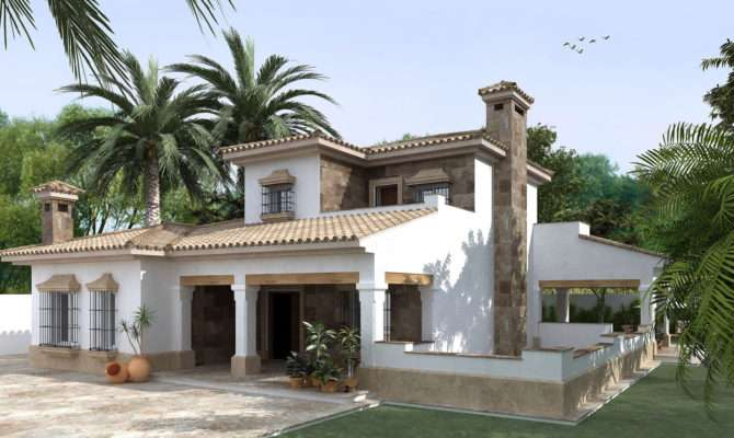 Designs Having Glamour House Beautiful Spanish Design