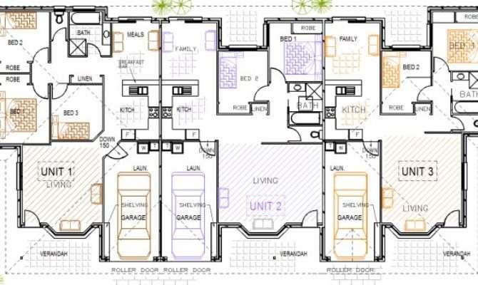 Designs Steel Kit Homes Floor Plans Triplex Duplex House