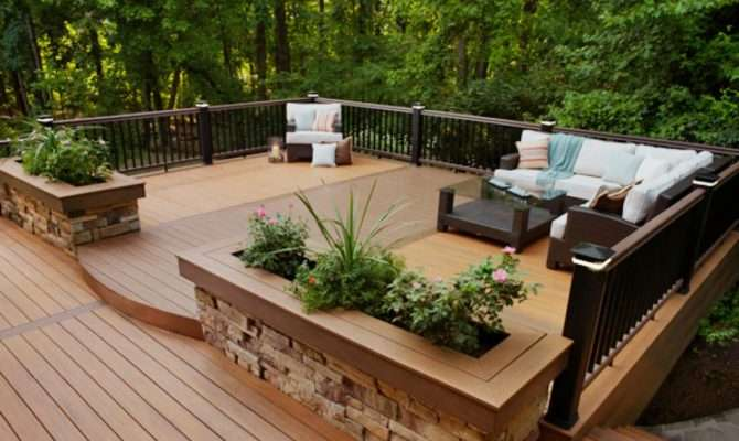 Determine Your Deck Style Outdoor Design Landscaping Ideas