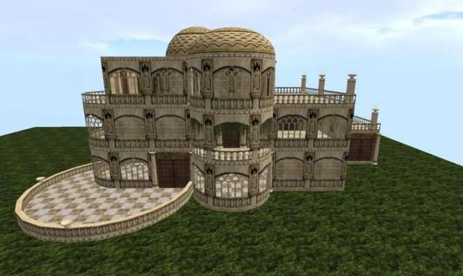 Dhousedownload Roman Style Wall Gate Villa