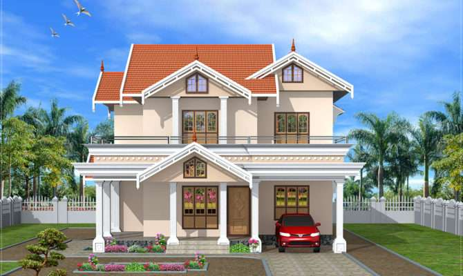 Different Designs Front Elevations Views Houses Plans