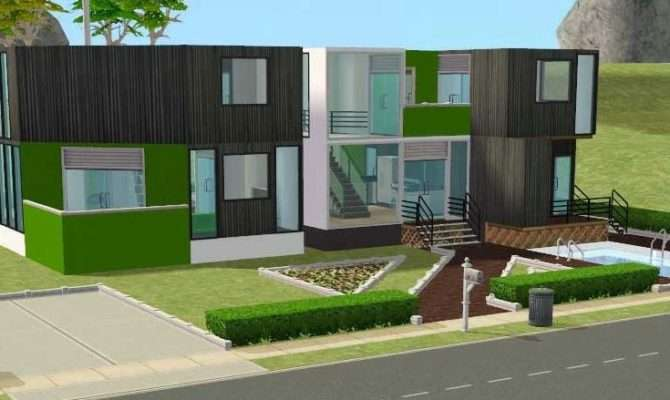 Digital Urban Sims Building House