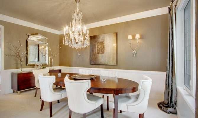 Dining Room Contemporary Formal Decor