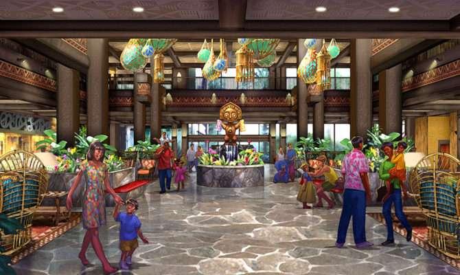 Disney Announces Imagined Polynesian Resort
