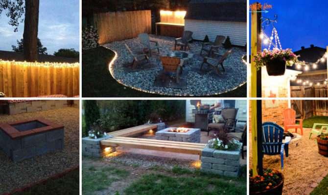 Diy Backyard Patio Lighting Projects Amazing