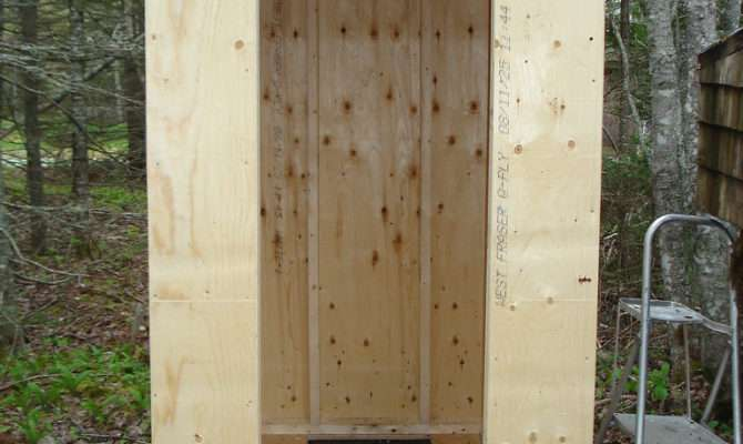 Diy Build Outhouse Plans