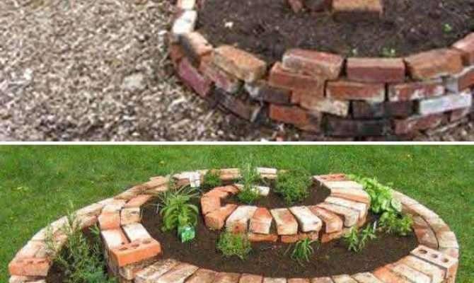 Diy Ideas Creating Cool Garden Yard Brick Projects