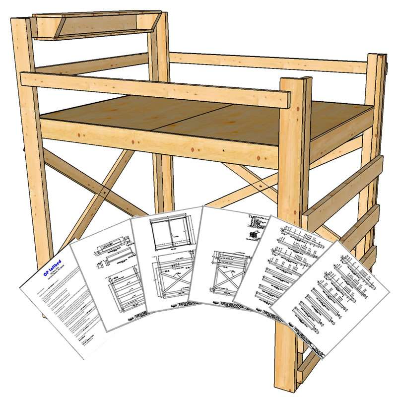 Diy Loft Bed Plans Loftbed