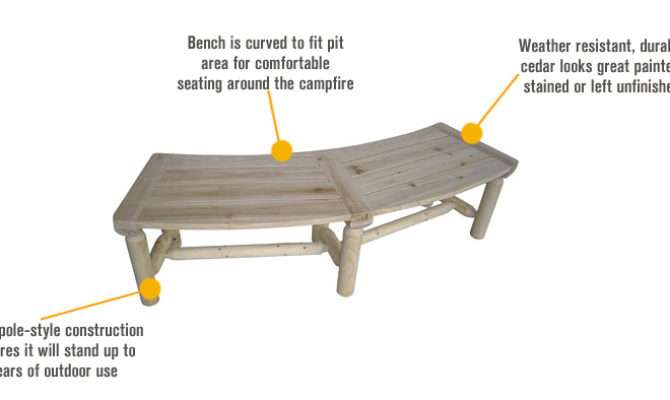 Diy Make Curved Wood Bench Plans Built Bunk Bed