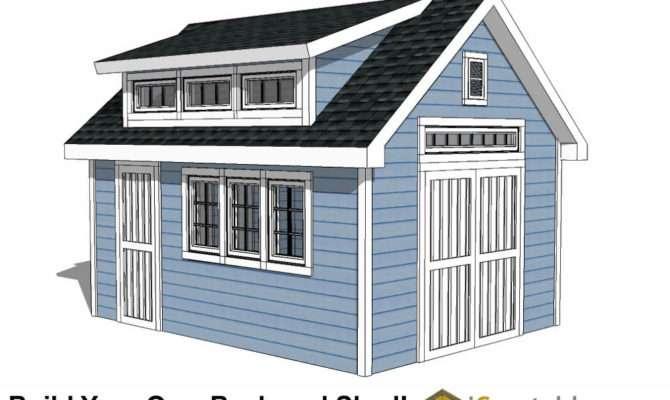 Dormer Shed Plans Designs Build Your Own