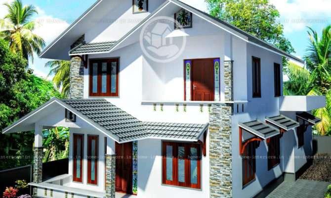 Double Floor Beautiful Kerala Home Design Plan