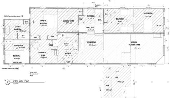 Double Shotgun House Floor Plan Designs