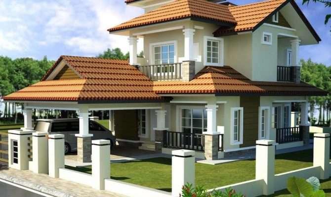 Double Storey Bungalow House Plan Home Design Best
