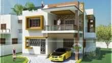 Double Storied Tamilnadu House Design Kerala Home Floor