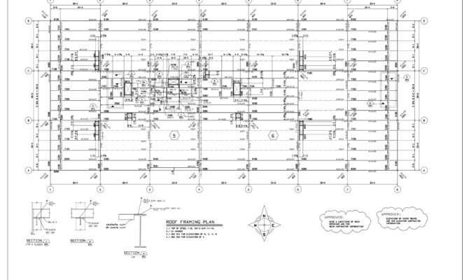 Drawings Roof Framing Plan