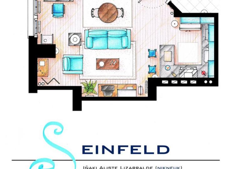 Drawn Floor Plans Sitcom Homes Now