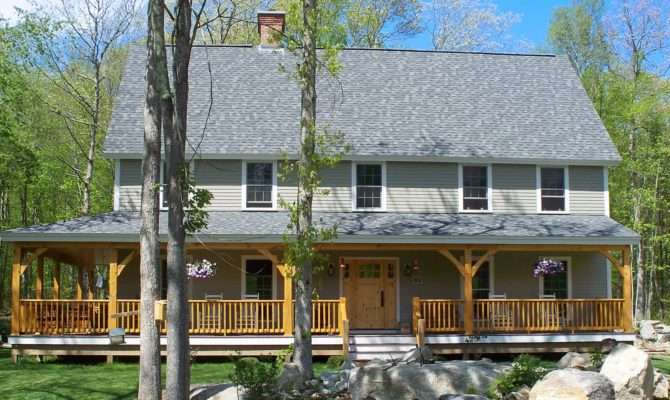 Dream Farmhouse Kit Homes Building Plans