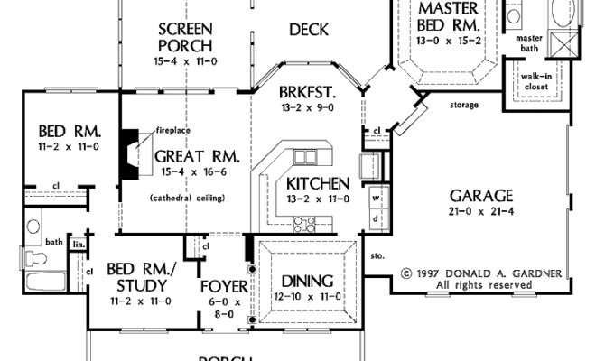 Dream Home Blueprints House Plans