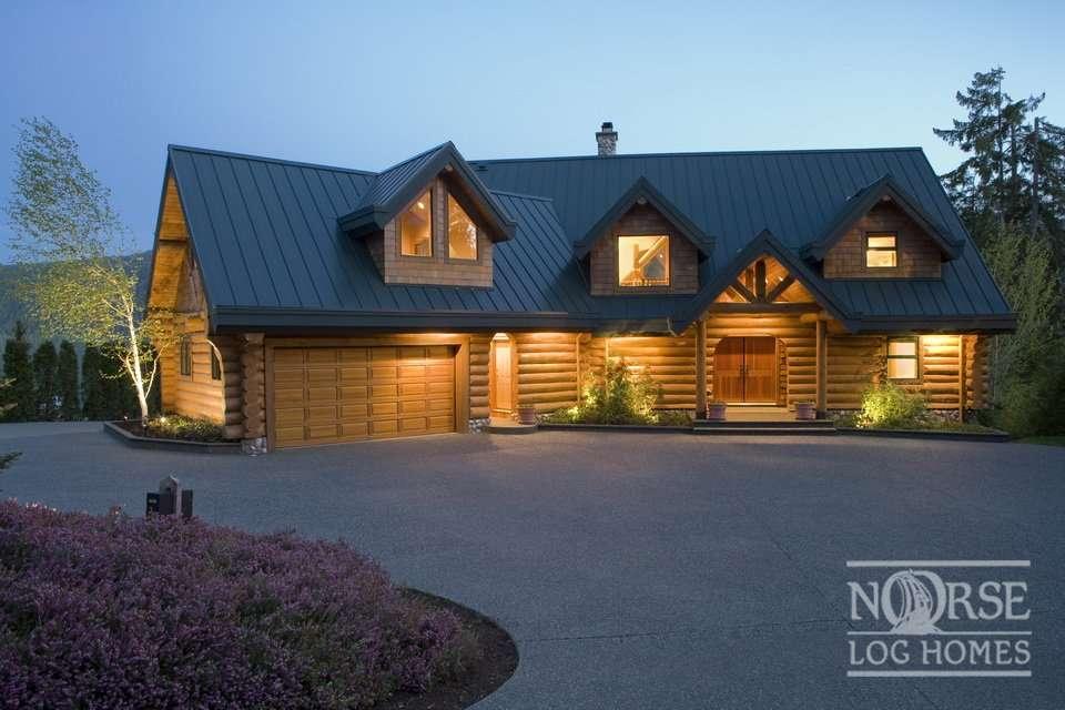Dream Home Custom Log Homes Builders Designs Plans