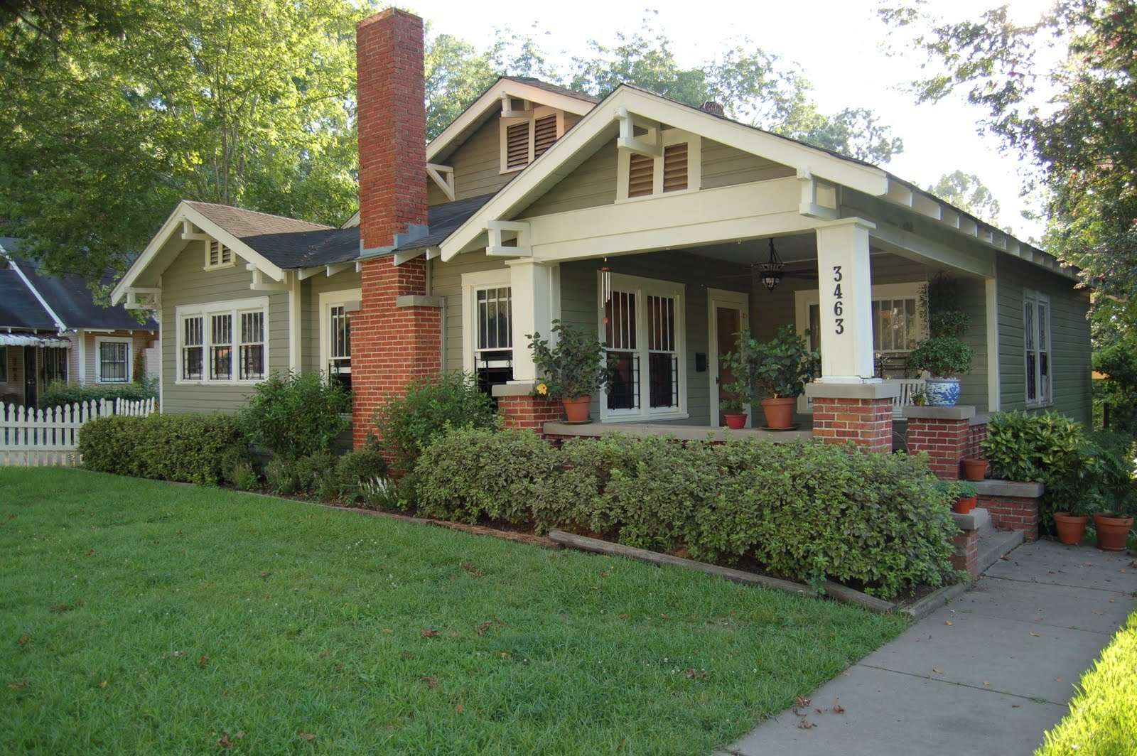Dream House Craftsman Style Front Porch Historic Character