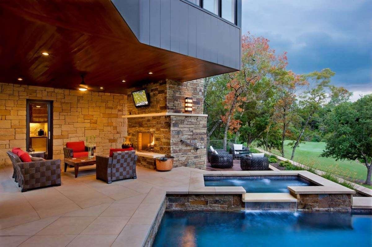 Dream House Design Hill Westlake Drive James Larue