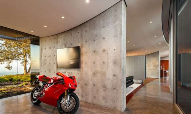 Dream Motorcycle Garages Park Your Ride Style Night