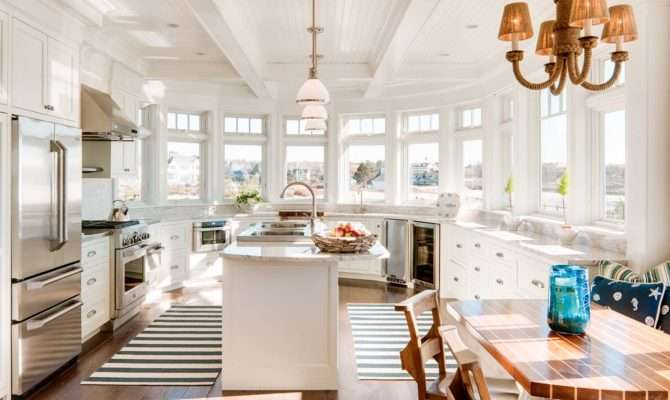 Dreamy Seaside Home Maine New England Style