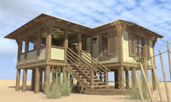 Duck Blind House Plan Tyree Plans