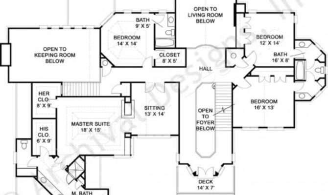 Dunrobin Castle House Plan European Plans