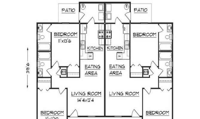Duplex Floor Plans Design Bloombety