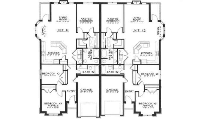 Duplex Floor Plans Google Search Architecture Pinterest