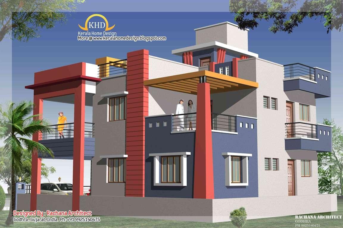 Ground floor house model modern house for Home designs ground floor