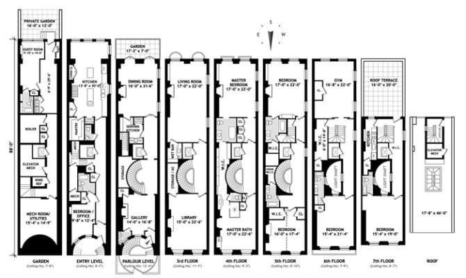 Duplex House Plan Multi Plans