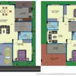 Duplex House Plans India Corner
