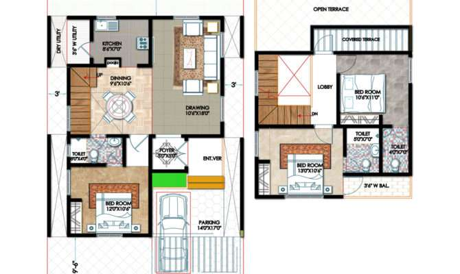 Duplex House Plans Seniors