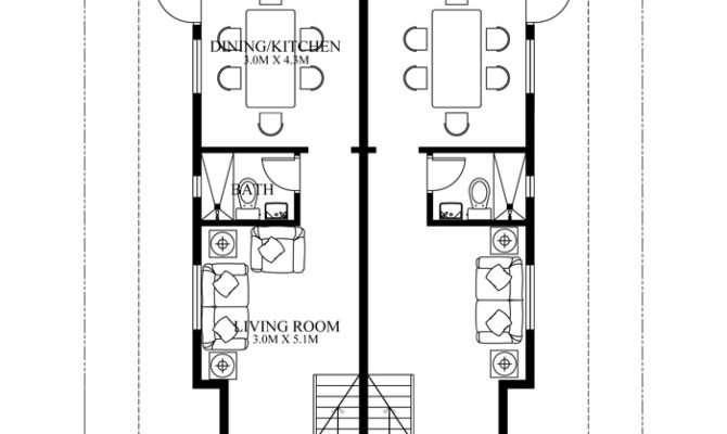 Duplex House Plans Series Php
