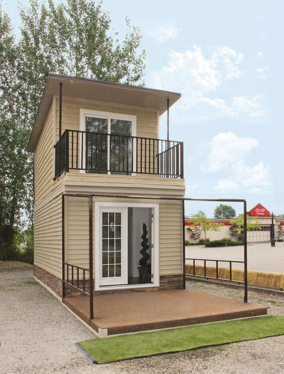 Eagle Story Steel Framed Micro Home