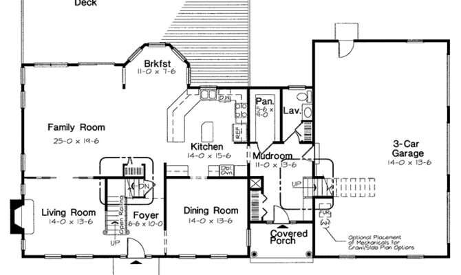 Early American Farmhouse Floor Plans Houseplansandmore